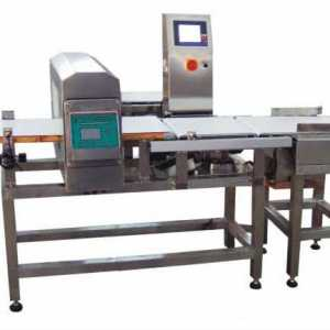 ND combined checking weigher and metal detector